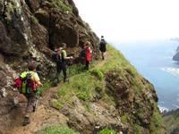 Titelbild des Albums: Madeira 05.05.2011   Canical Tunel ; Küstensteig ( nur für geübte und schwindelfreie ) , Port da Cruz