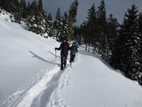 Titelbild des Albums: Steingraben - Schöcklschneid -Gipfelkreuz -  Alpengasthof - Wallerhütte 20.01.2013