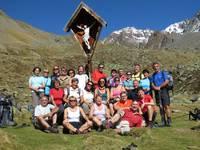 Titelbild des Albums: Südtirol => Melagtal => Weißkugel Hütte 2557 Hm. => Reschensee  23.09.2013