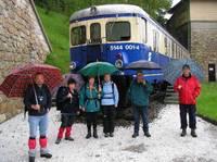 Titelbild des Albums: Bahnwanderung Semmering-Gloggnitz am 20.05.2006