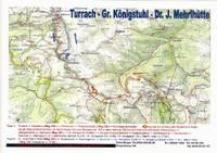 Titelbild des Albums: Turrach - Königstuhl - Dr. J. Mehrl  Hütte am 06.September 2008