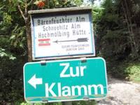 Titelbild des Albums: Wöeschachklamm am 08.08.2008